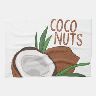 Linge De Cuisine Écrous de Cocos