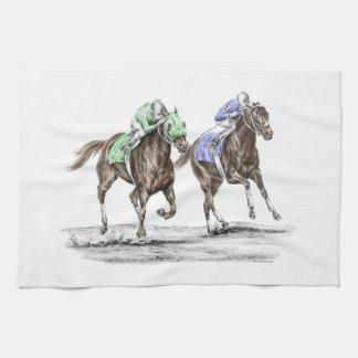 Linge De Cuisine Emballage de chevaux de pur sang