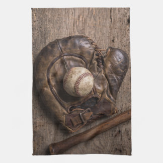 Linge De Cuisine Équipement de base-ball vintage
