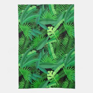 Linge De Cuisine Feuille de palmiers tropicaux