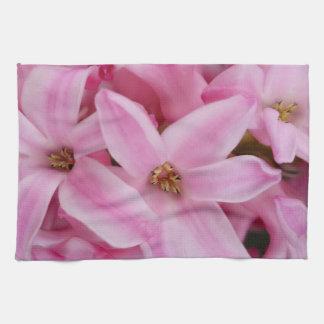 Linge De Cuisine fleur rose de jacinthe