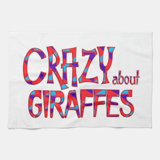 Linge De Cuisine Fou au sujet des girafes