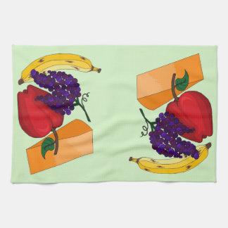 Linge De Cuisine Fruit et fromage
