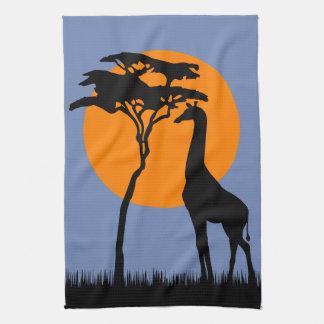 Linge De Cuisine Girafe