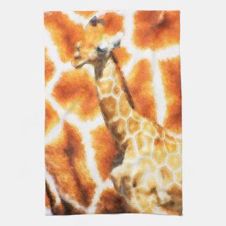 Linge De Cuisine Girafe de bébé