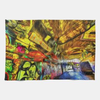 Linge De Cuisine Graffiti Van Gogh de Londres