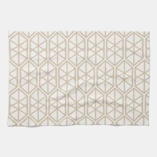 Linge De Cuisine Hexagone en pastel hexagonal de motif géométrique