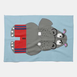 Linge De Cuisine Hippopotame