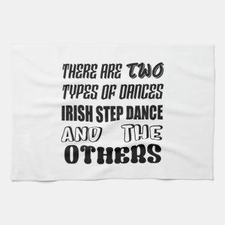 Linge De Cuisine Il y a deux types d'étape et d'othe irlandais de