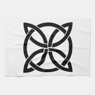 Linge De Cuisine Irlandais païen de noeud de symbole antique