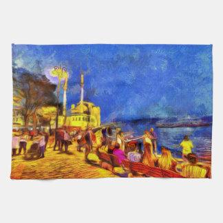 Linge De Cuisine Istanbul Van Gogh