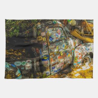 Linge De Cuisine Key West est art, vieux camion pick-up