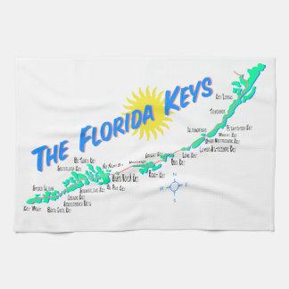 Linge De Cuisine La Floride verrouille la carte