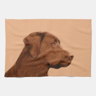Linge De Cuisine Labrador retriever (chocolat)