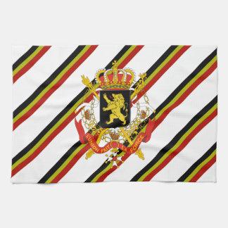 Linge De Cuisine Le Belge barre le drapeau