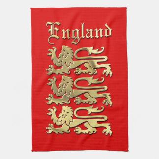Linge De Cuisine Le manteau de l'Angleterre des bras