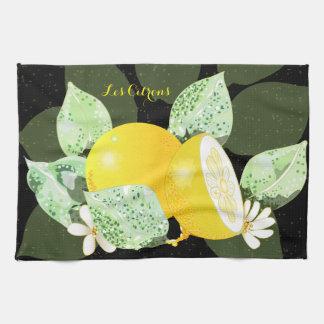 Linge De Cuisine Les Citrons