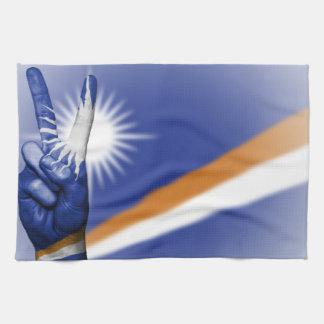 Linge De Cuisine Les Marshall Islands diminuent et remettent
