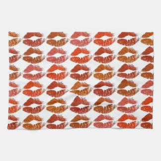 Linge De Cuisine Lèvres colorées élégantes #21