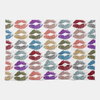 Linge De Cuisine Lèvres colorées élégantes #39