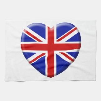 Linge De Cuisine love drapeau Angleterre