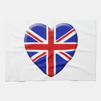Linge De Cuisine love drapeau Royaume-uni Angleterre