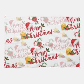 Linge De Cuisine Manuscrit de calligraphie de Joyeux Noël