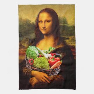Linge De Cuisine Mona Lisa aime des légumes