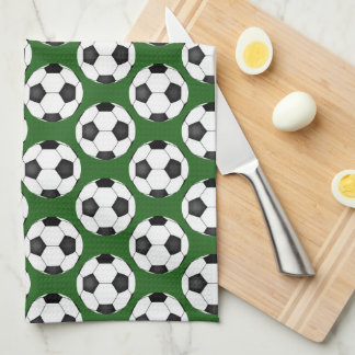 Linge De Cuisine Motif de ballon de football