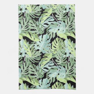 Linge De Cuisine Motif floral de jungle
