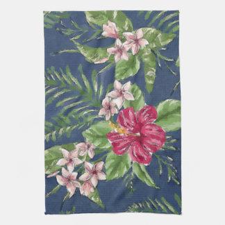 Linge De Cuisine Motif floral tropical d'Hawaï de couleurs