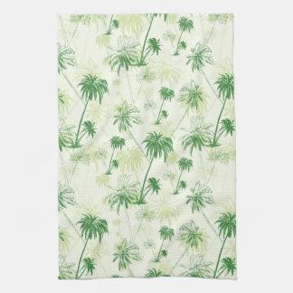 Linge De Cuisine Motif vert de palmier
