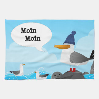 """Linge De Cuisine Mouette de """"Moin Moin"""""""