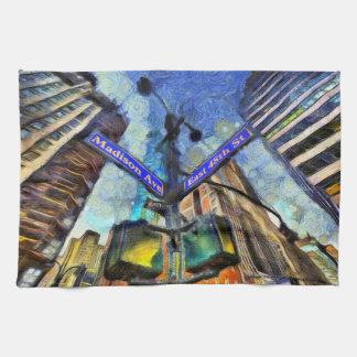 Linge De Cuisine Plaque de rue Van Gogh de New York