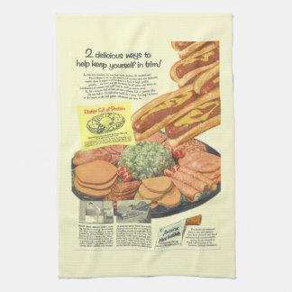 """Linge De Cuisine """"Plateau complètement annonce vintage drôle de"""