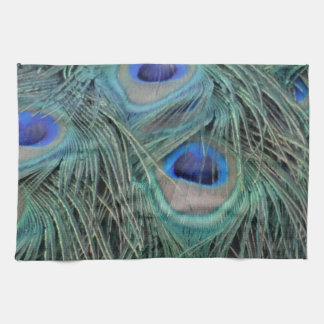 Linge De Cuisine Plumes de paon avec des taches d'oeil