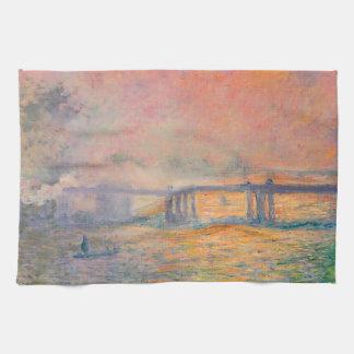 Linge De Cuisine Pont croisé de Claude Monet Charing