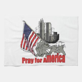 Linge De Cuisine Priez pour l'Amérique