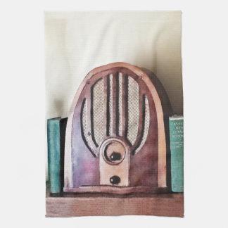 Linge De Cuisine Radio vintage des années 1930