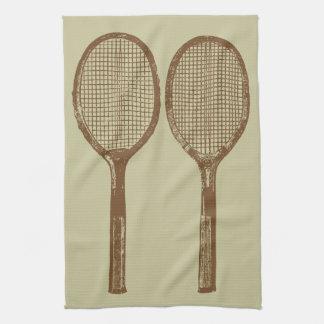 Linge De Cuisine Raquettes de tennis vintages
