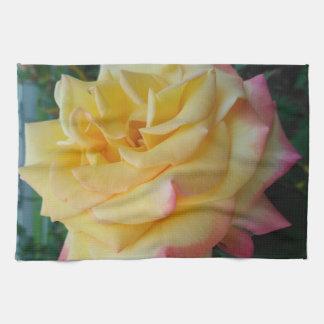 Linge De Cuisine Rose jaune