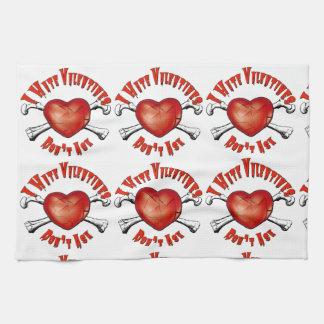 Linge De Cuisine Saint-Valentin de haine des Anti-Valentines I ; Ne