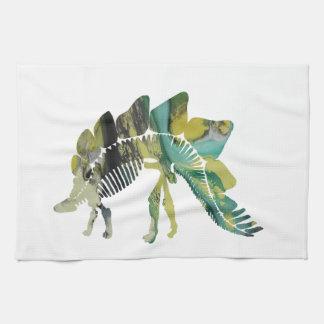 Linge De Cuisine Squelette de Stegosaurus