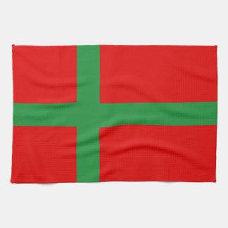 Linge De Cuisine Symbole de province de région de drapeau de