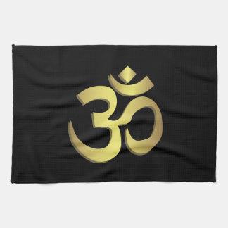Linge De Cuisine Symbole de yoga de l'OM (Aum) Namaste