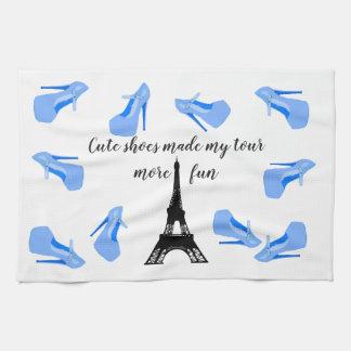 Linge De Cuisine Talons hauts de Tour Eiffel de Paris France