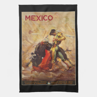 Linge De Cuisine Tauromachie vintage Matador du Mexique de voyage