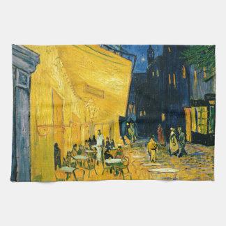 Linge De Cuisine Terrasse de café de Vincent van Gogh |, Place du