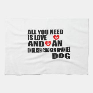 Linge De Cuisine Tous vous avez besoin des chiens ANGLAIS Desi de