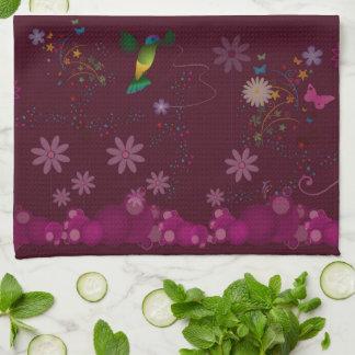 Linge De Cuisine Un peintre de colibri